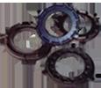 clutch-pressure disk